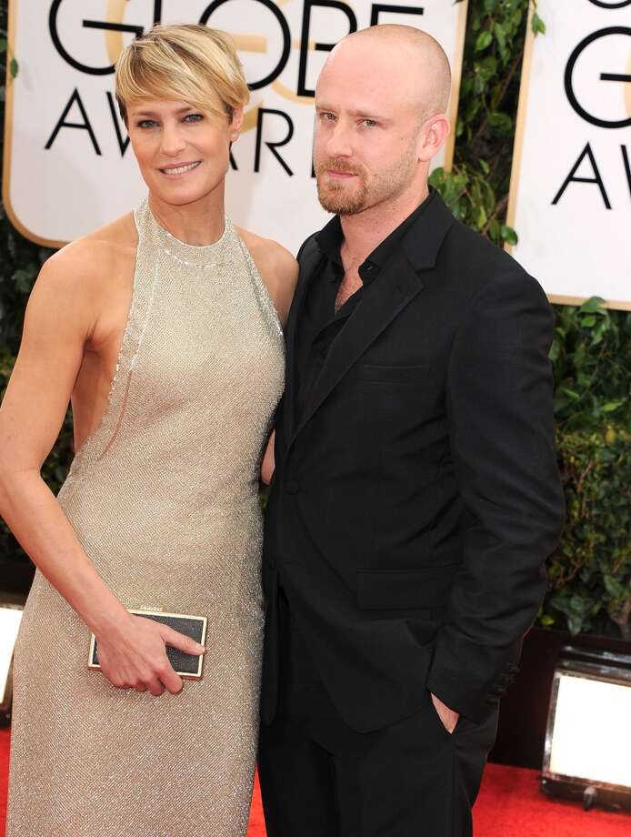 Robin Wright and Ben Foster (Age difference: 14 years) When he was born in 1980, she was starting her career as a model. Photo: Steve Granitz, WireImage