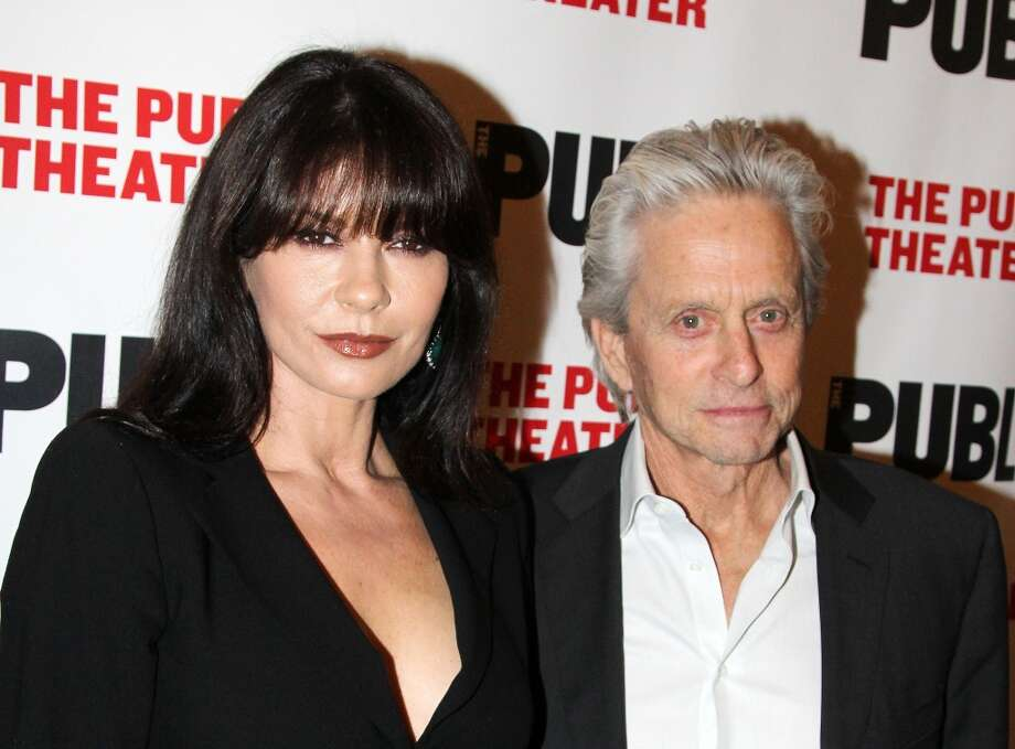 "Michael Douglas and Catherine Zeta-Jones (Age difference: 25 years) When she was born in 1969, he played the role of M.K. Douglas in the TV series ""CBS Playhouse"" and starred as Carl Dixon in the hippie movie ""Hail, Hero!"" Photo: Bruce Glikas, FilmMagic"