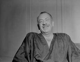 STEINBECK1/C/19SEP57/PK/KM-John Steinbeck  BY KEN MCLAUGHLIN/THE CHRONICLE 1957 ALSO RAN 9/28/02