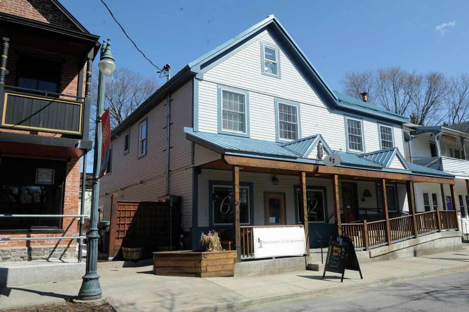 The building at 62 Beekman St. in Saratoga Springs, formerly Beekman Bar & Eatery, is reopening as casual wine bar Taverna Nova this week.  Photo: Michael P. Farrell / 00026397A