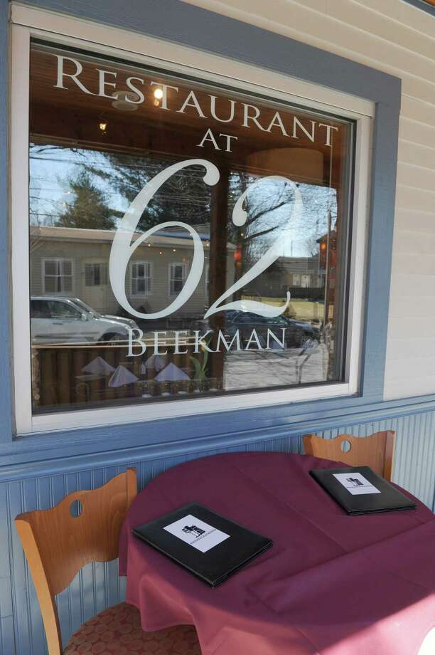 Restaurant at 62 Beekman, 62 Beekman St., Saratoga Springs, NY, 518-584-1022. Visit Web site. Read our review. Photo: Michael P. Farrell / 00026397A