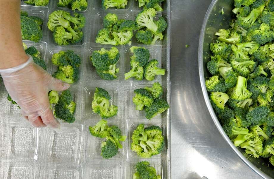 Broccoli: Up 22.5% Photo: Nikki Fox, Associated Press