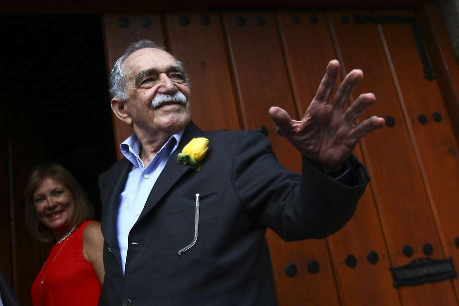 "Colombian Nobel Prize laureate Gabriel Garcia Marquez greets journalists and neighbours on his birthday outside his house in Mexico City in this March 6, 2014 file photo. Garcia Marquez, the Colombian author whose beguiling stories of love and longing brought Latin America to life for millions of readers and put magical realism on the literary map, died on April 17, 2014. He was 87. Known affectionately to friends and fans as ""Gabo"", he is arguably Latin America's best-known author and his books have sold in the tens of millions. Photo: Edgard Garrido, Reuters"