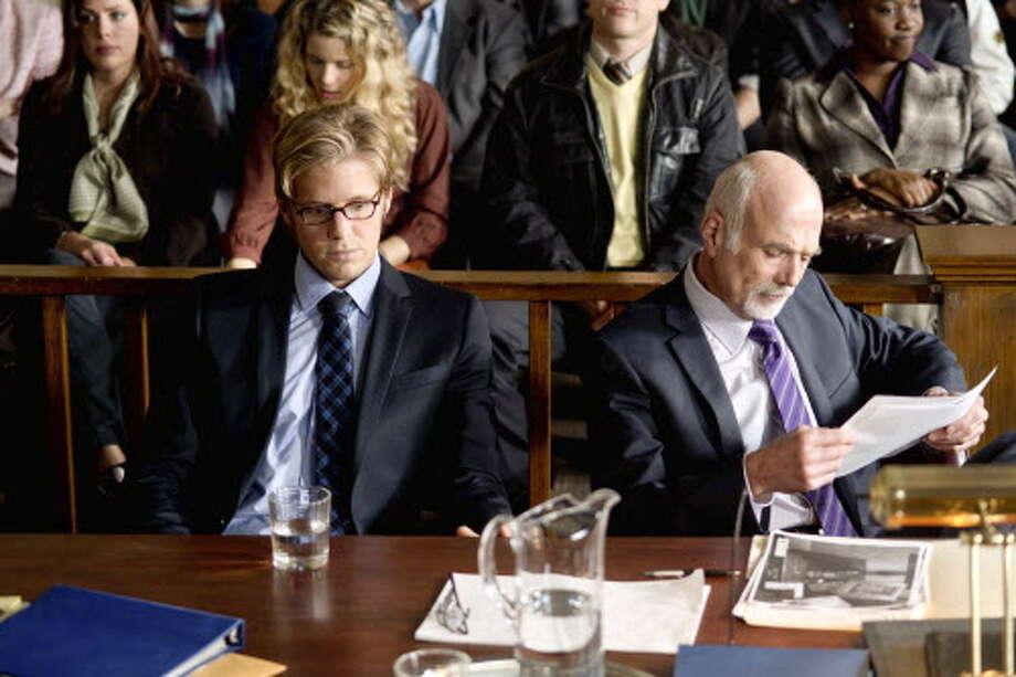 """Matt Barr, left, stars as Chris Porco in the Lifetime Original Movie """"Romeo Killer: The Chris Porco Story."""" (Photo by Ed Araquel) Photo: Ed Araquel / © 2012 Ed Araquel"""