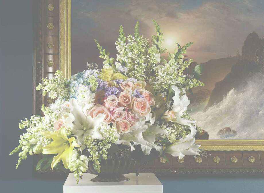 """Wadsworth Atheneum's """"Fine Art & Flowers"""" takes place Friday through Sunday in the museum's galleries in Hartford. Floral designers will create pieces to complement art works in the museum's collection, like the one above. Find out more.  Photo: Contributed Photo, Contributed Photo / Connecticut Post Contributed"""