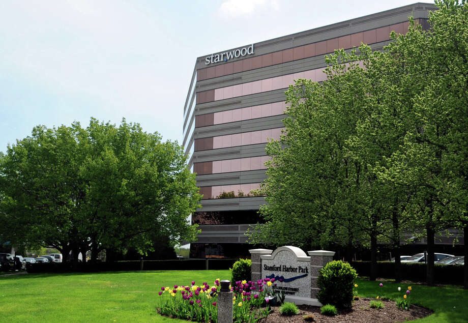 Starwood Hotels and Resorts Worldwide, at 1 Star Point in Stamford, the company's headquarters. Photo: Lindsay Niegelberg / Stamford Advocate