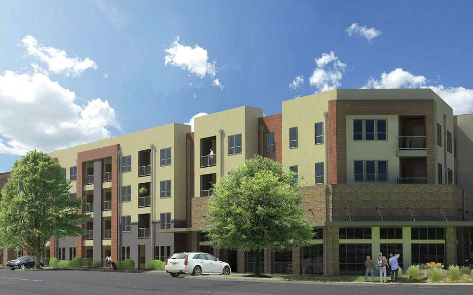A reader rejoices in a plan by the development firm NRP Group to build an 84-unit, $11.2 million mixed-use project called Balcones Lofts in Balcones Heights. Photo: Courtesy Illustration