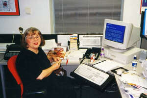 Karen Haram (shown in the early 2000s) discovered that food classes didn't offer all the answers.