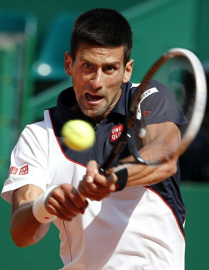 Novak Djokovic needed just 47 minutes to reach the Monte Carlo Masters quarterfinals. Photo: Eric Gaillard, Reuters