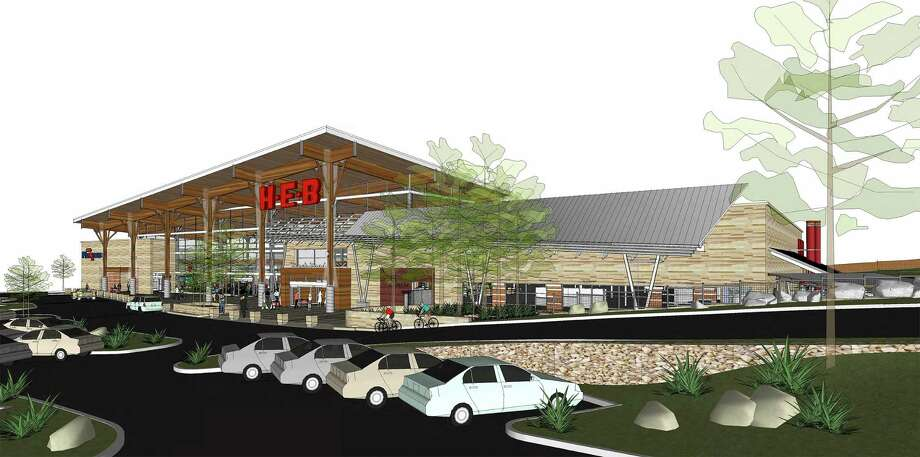 H-E-B this June will open its Stone Oak Market at the corners of Hardy Oak and Wilderness Oak. The grocer currently is training employees at its culinary school to prepare for the full-service restaurant, called Oaks Crossing, connected to the store. Photo: Courtesy