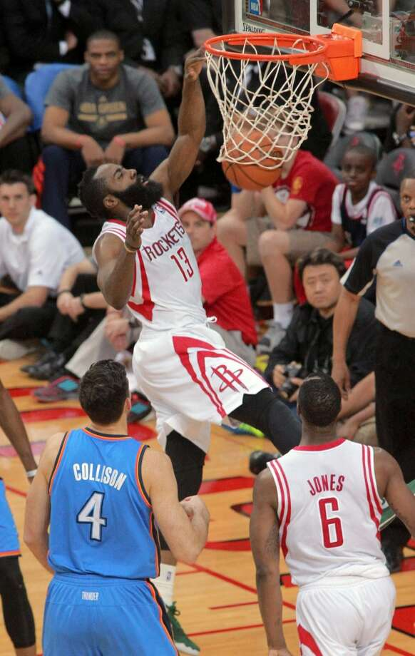 Houston Rockets  15/1 Photo: Richard Carson, Associated Press