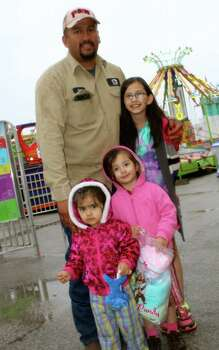 San Antonians braved the rainy weather and enjoyed Fiesta Carnival at the Alamodome Photo: By Yvonne Zamora, For MySA.com