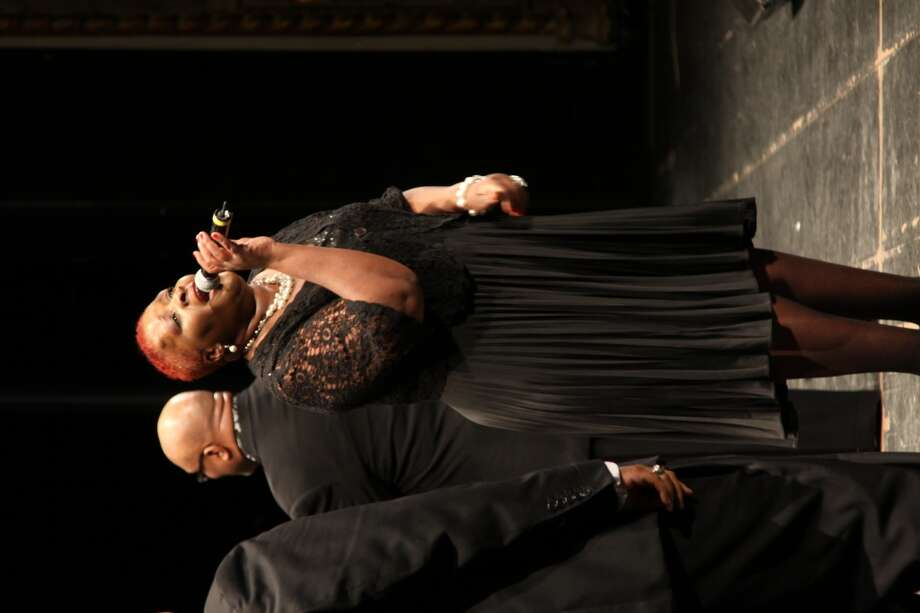 Soloist, Antonia Brown of Jubilee Mass Choir