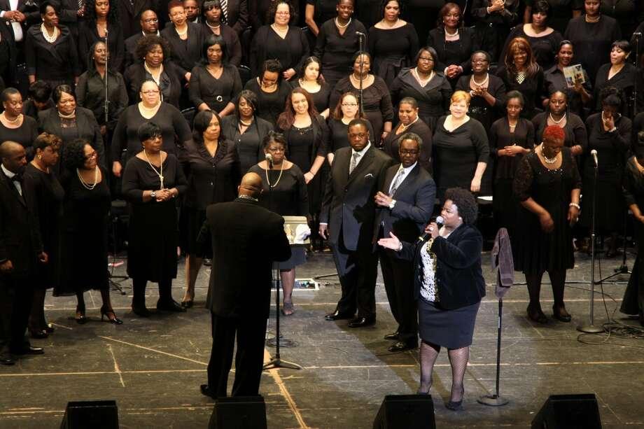 Crystal Aikin and Choir