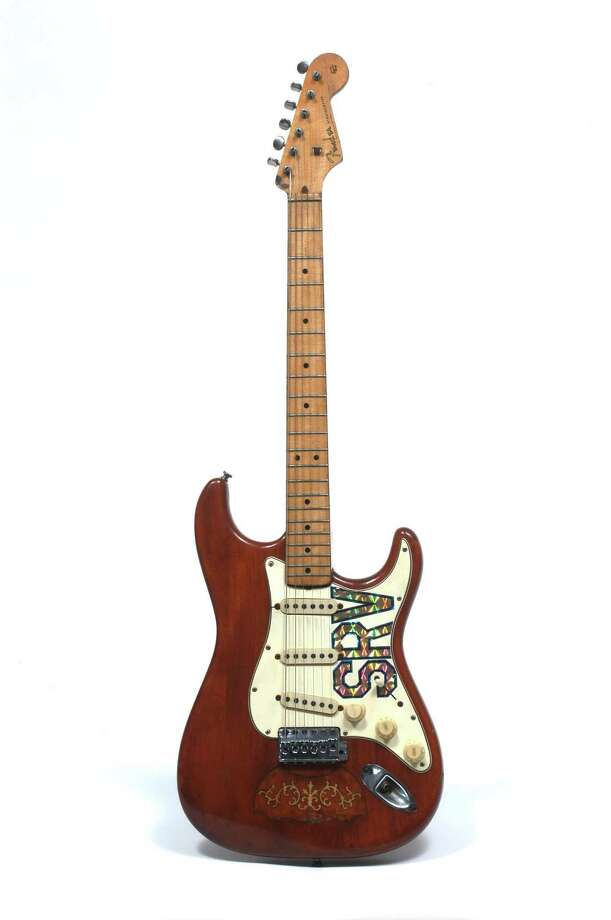 Stevie Ray Vaughan's custom strat Photo: Robert Knight Archive, Getty Images / Redferns
