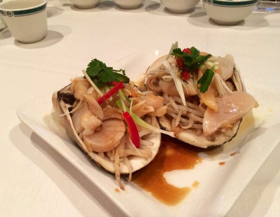 Hong Kong Lounge II: Surf clams with bean sprouts ($15)
