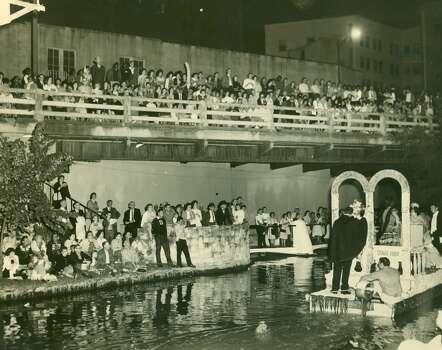 Fiesta 1962 - Texas Cavaliers' River Parade. Photo: Express-News, File