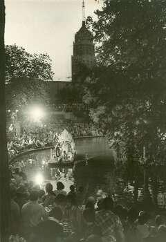 Fiesta 1974 - Texas Cavaliers' River Parade Photo: Express-News, File