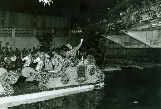 Fiesta 1984 - Texas Cavaliers' River Parade. Photo: Express-News, File