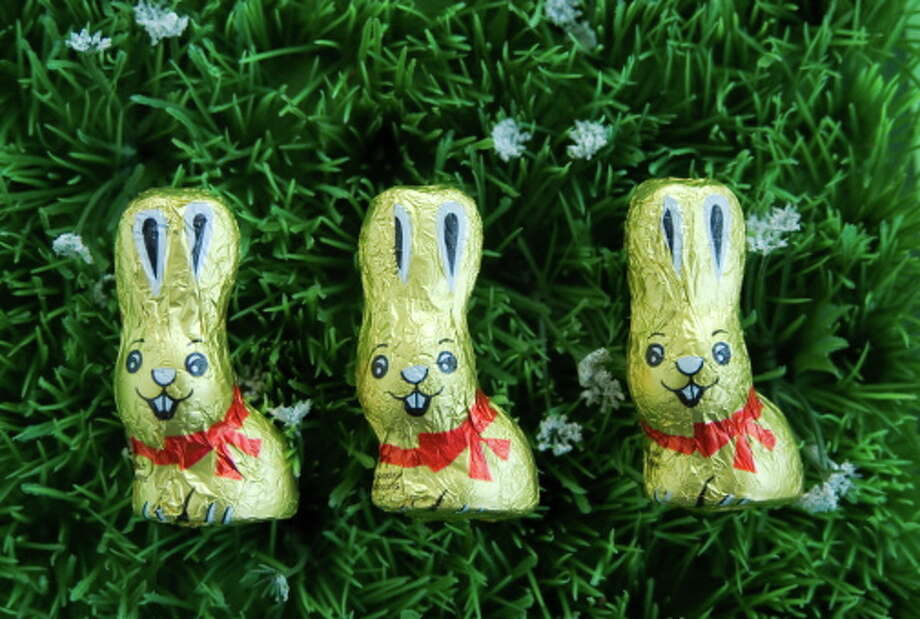 """No. 19 – Mini Chocolate Bunnies:A subliminal message for the parent that wants to tell their kid, """"I don't love you enough to get you a full-size bunny."""" You're destroying families, Mini bunnies, and you should be ashamed of yourselves. Photo: Maike Jessen, Getty Images/Picture Press RM / Picture Press RM"""