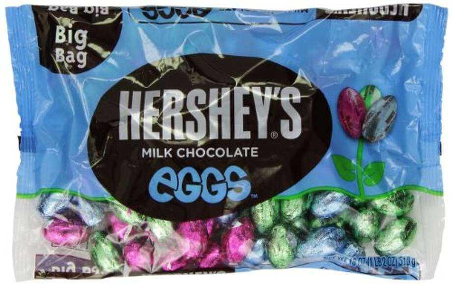 No. 12 – Hershey's Milk Chocolate Eggs:– The foil wrappers can be a pain, but for a quick shot of chocolate, they're hard to beat. It's easy to lose track of how many you've eaten, though, which can be a good thing and a bad thing.