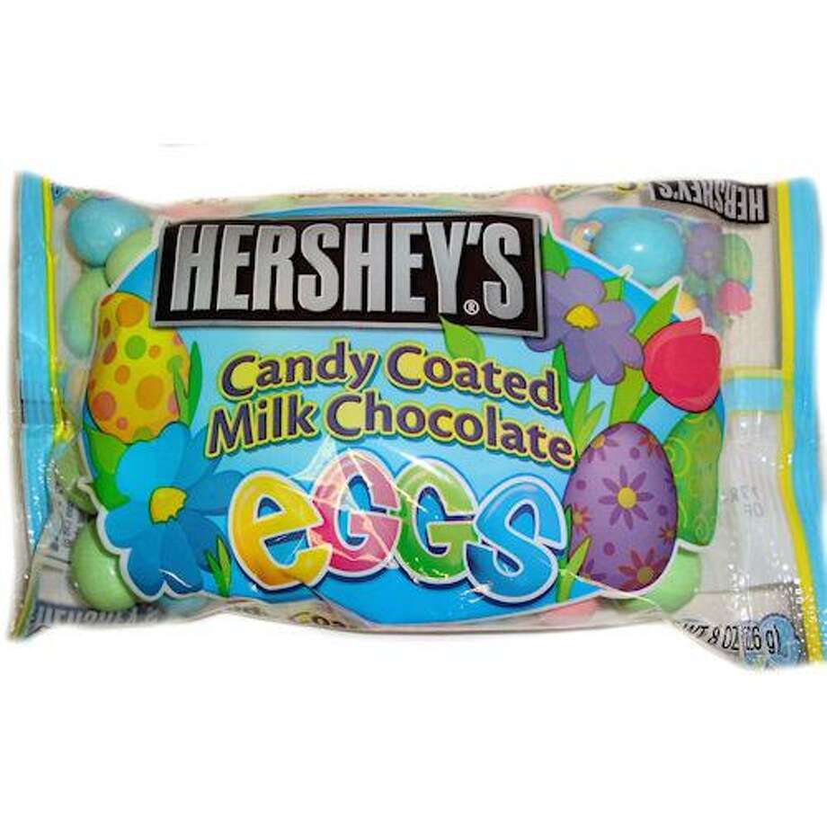 No. 11 – Hershey's Candy Coated Milk Chocolate Eggs:Hershey's steps its game up with a sugary shell, an added crunch and the absence of that pain-in-the-cottontail wrapper.