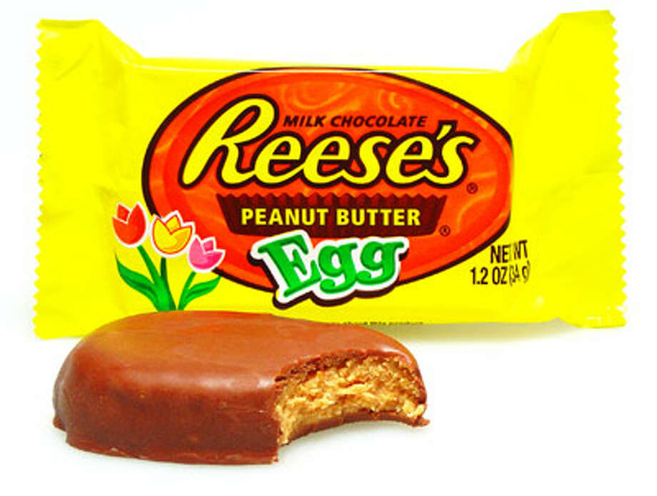 No. 1 – Reese's Eggs: The traditional Peanut Butter Cup was already near-perfect, but for Easter Reese's actually found a way to improve it with seemingly a better PB-to-chocolate ratio and the elimination of the black wax cup that always steals the bottom of your candy.  These are hands-down the best Easter candy on the market.