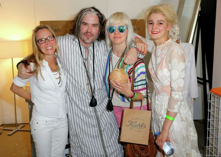 DJ Chris Holmes and friends Photo: Joe Scarnici, Getty Images For LACOSTE / 2014 Getty Images