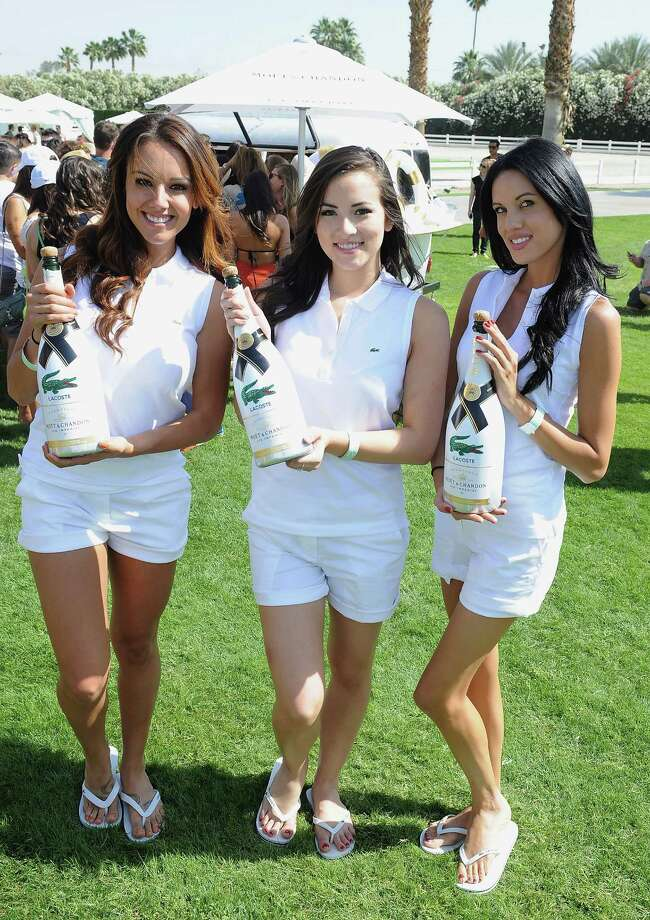 Lacoste pool party Photo: Angela Weiss, Getty Images For Moet & Chandon / 2014 Getty Images