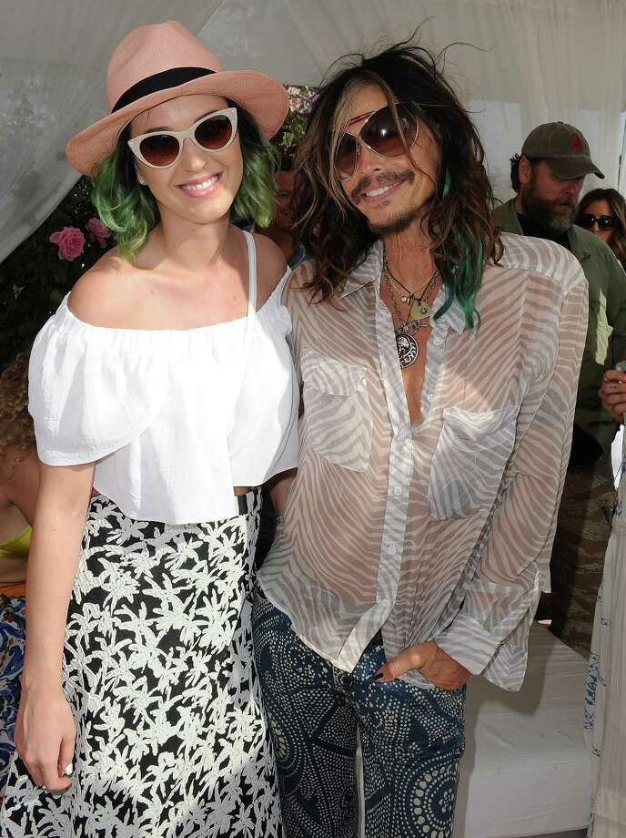 Katy Perry and Steven Tyler Photo: Angela Weiss, Getty Images For Moet & Chandon / 2014 Getty Images