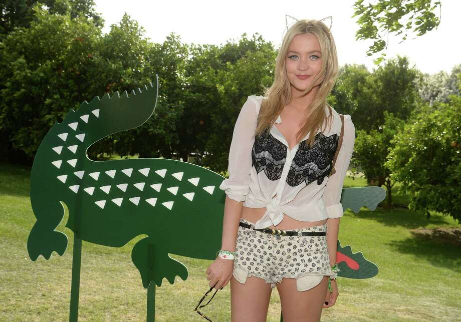 TV Presenter Laura Whitmore Photo: Chris Weeks, Getty Images For LACOSTE / 2014 Getty Images