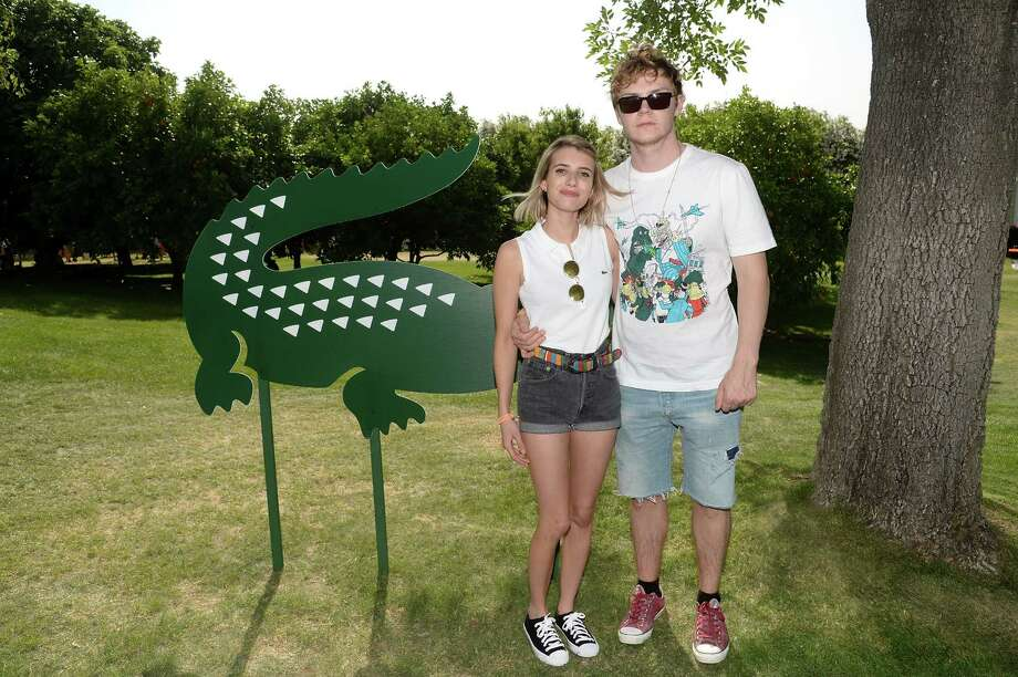 Emma Roberts and Evan Peters Photo: Chris Weeks, Getty Images For LACOSTE / 2014 Getty Images