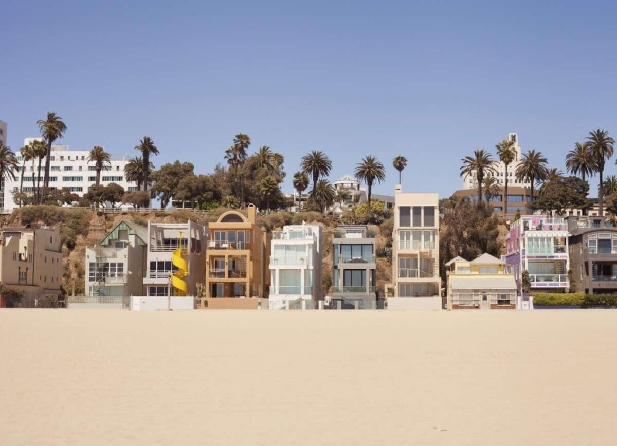 3. Santa Monica Beach, Calif.
