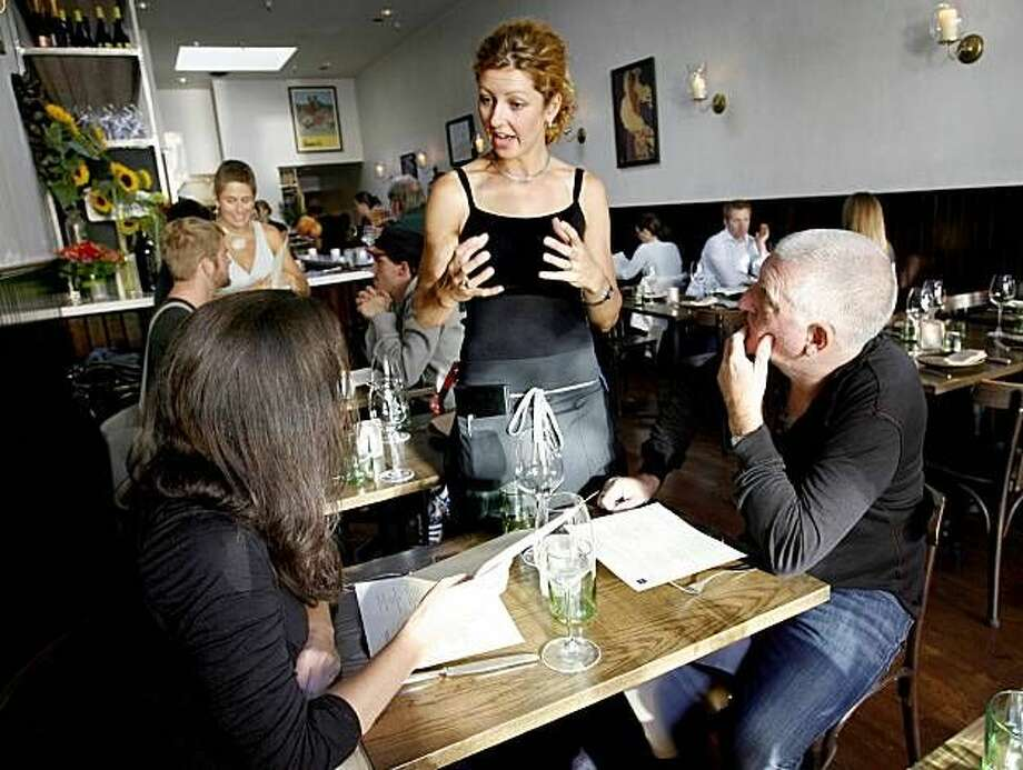 SPQR: Weekend lunch is one of the many things to love about the Fillmore Street restaurant. As is the cooking from Matthew Accarrino, one of Food & Wine's 2014 Best New Chefs. Photo: Katy Raddatz, The Chronicle