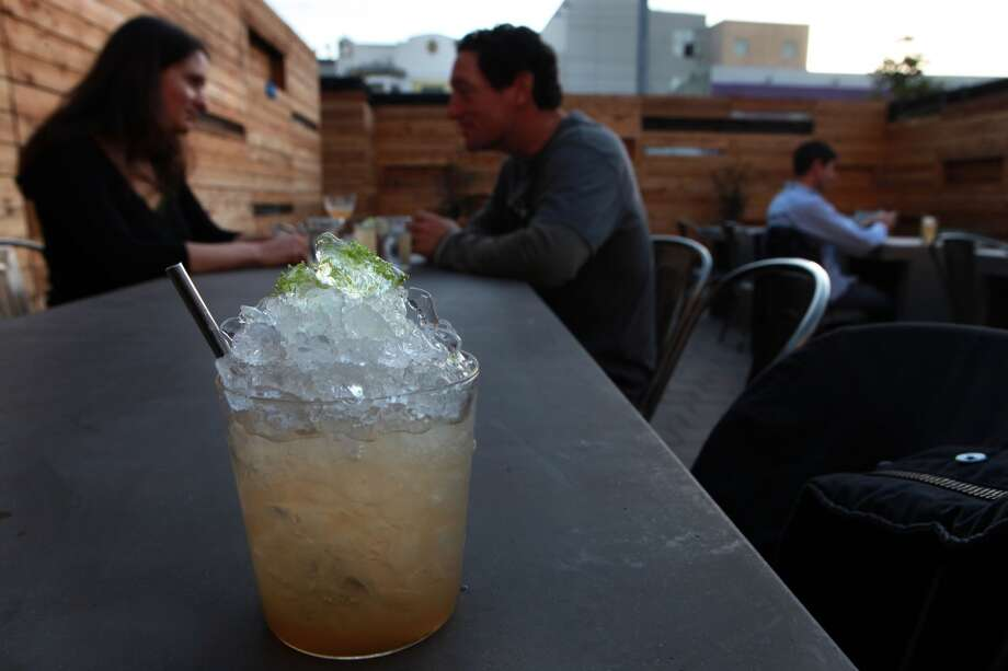 Bar Agricole: With a nice patio and a new chef, this SoMa bar/restaurant should be a good option, especially if the weather cooperates. (Available times: 12:00, 12:15, 12:45) Photo: Liz Hafalia, The Chronicle