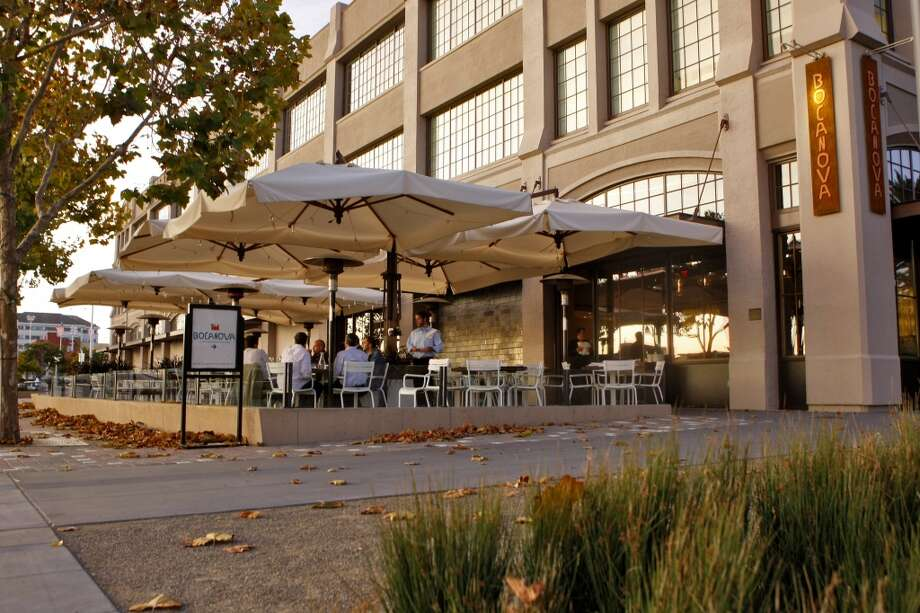 Bocanova, Oakland. Several of the Jack London Square restaurants have al fresco dining areas. We especially like Bocanova's . (Available times: Many) Photo: Lacy Atkins, The Chronicle