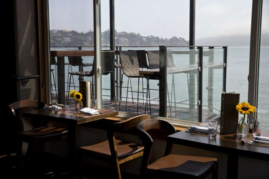 Barrel House, Sausalito: The Marin tavern was designed by Eduard Llora who restored a historic building .  The indoor space has many views of the water and there is also an outdoor seating area (Available times:  12:45, 1:15) Photo: Laura Morton, Special To The Chronicle