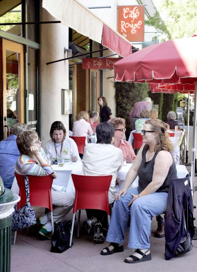 Cafe Rouge, Berkeley: When it opened in the mid-90s, Michael Bauer said the Berkeley spot should be renamed Zuni East. (Available times: Many) Photo: Katy Raddatz, The Chronicle