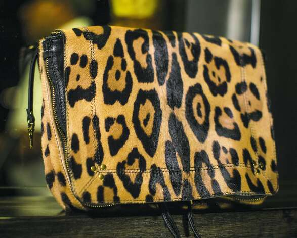 Bag check: Jerome Dreyfuss Igor ponyhair bag, $1,120, from Barneys New York, San Francisco. Photo: Russell Yip, The Chronicle