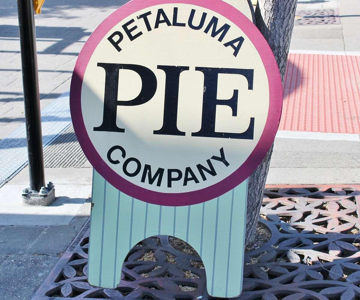 3. Petaluma Pie Co. 125 Petaluma Blvd. North: The Petaluma Pie Co. uses local, organic ingredients to make sweet and savory pies in hand, mini and full size versions. Pick up a potato and leek hand pie to go, enjoy an organic chicken potpie inside the petite, homey space or a lemon meringue pie on the patio. (707) 766-6743,www.petalumapiecompany.com.