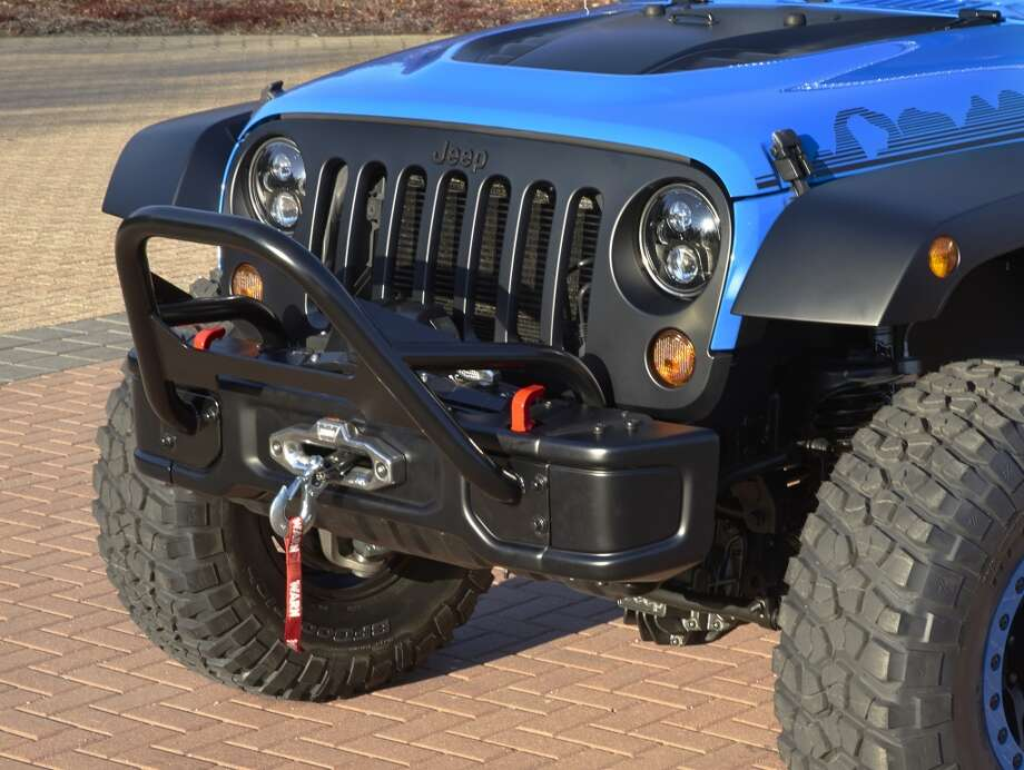 Concept vehicle for the Moab Easter Jeep Safari Photo: Newspress USA