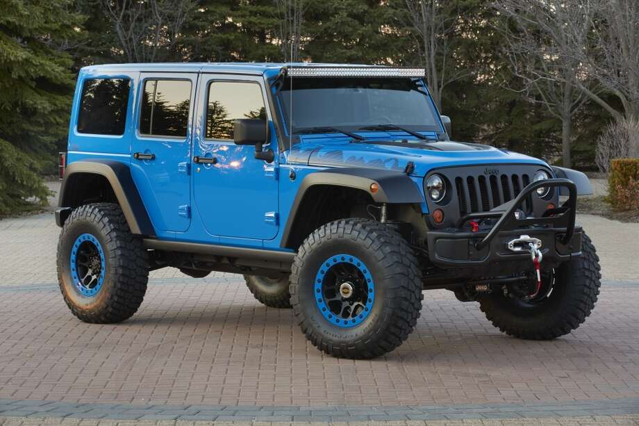 Concept vehicle for the Moab Easter Jeep Safari Photo: Newspress USA