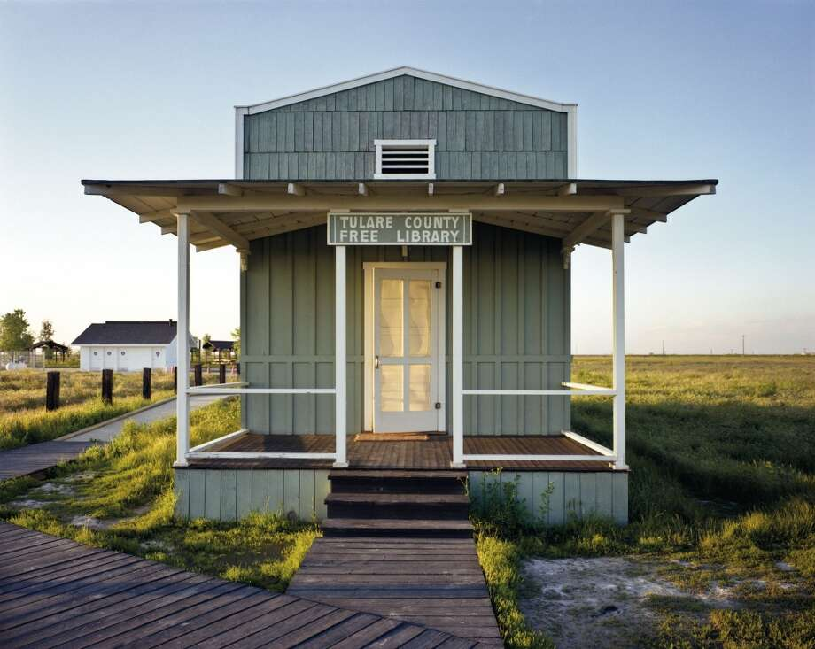 "A re-creation of the library built by ex-slaves in what is now Colonel Allensworth State Historic Park, in Tulare County. Photo: Photo From ""The Public Library"""