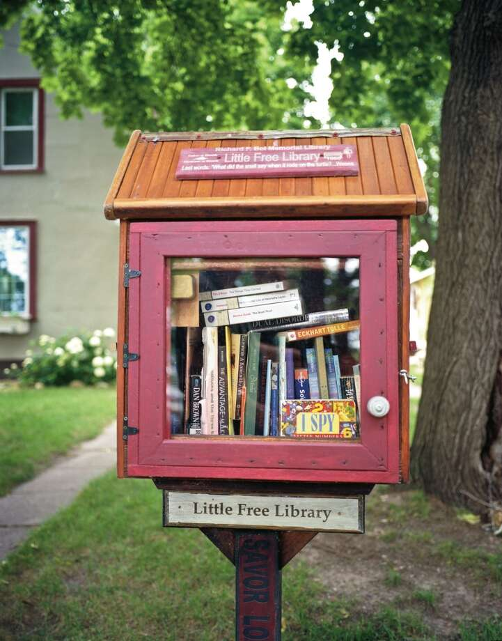 "Richard F. Boi Memorial Library, First Little Free Library, Hudson, Wis. Photo: Photo From ""The Public Library"""