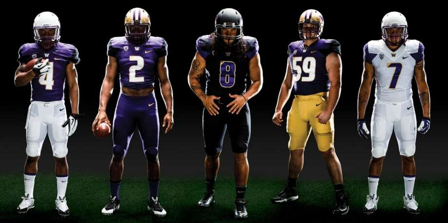 A look at the new Washington Huskies football uniforms from Nike. Photo: UW Athletics