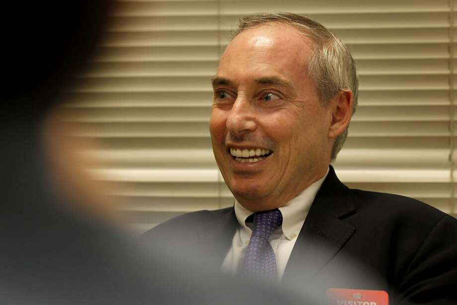 Schnur is running as an independent. Photo: Brant Ward, The Chronicle