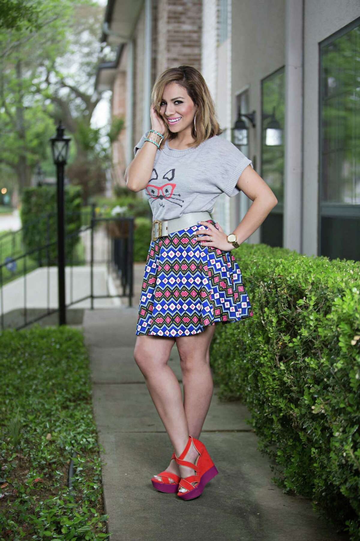 Yvonne Garza-Guidry started her Spoiled Latina style and fashion blog in 2008 and has since generated a large social-media presence with mor than 14,000 Instagram followers. She also was named a top blogger by Cosmopolitan Latiina.