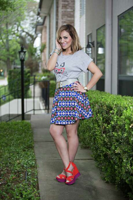 Yvonne Garza-Guidry started her Spoiled Latina style and fashion blog in 2008 and has since generated a large social-media presence with mor than 14,000 Instagram followers. She also was named a top blogger by Cosmopolitan Latiina. Photo: Laurie Perez Photography / ONLINE_YES