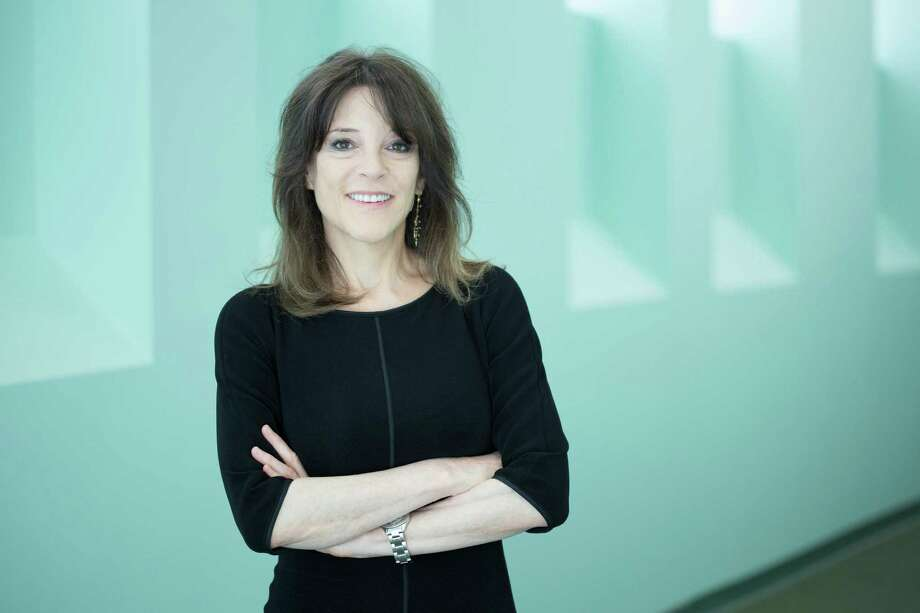 "Marianne Williamson, in a website letter about her congressional campaign, says that ""Love should be our bottom line, in politics as well as in everything else."" Photo: Hugh Hamilton / Houston Chronicle"