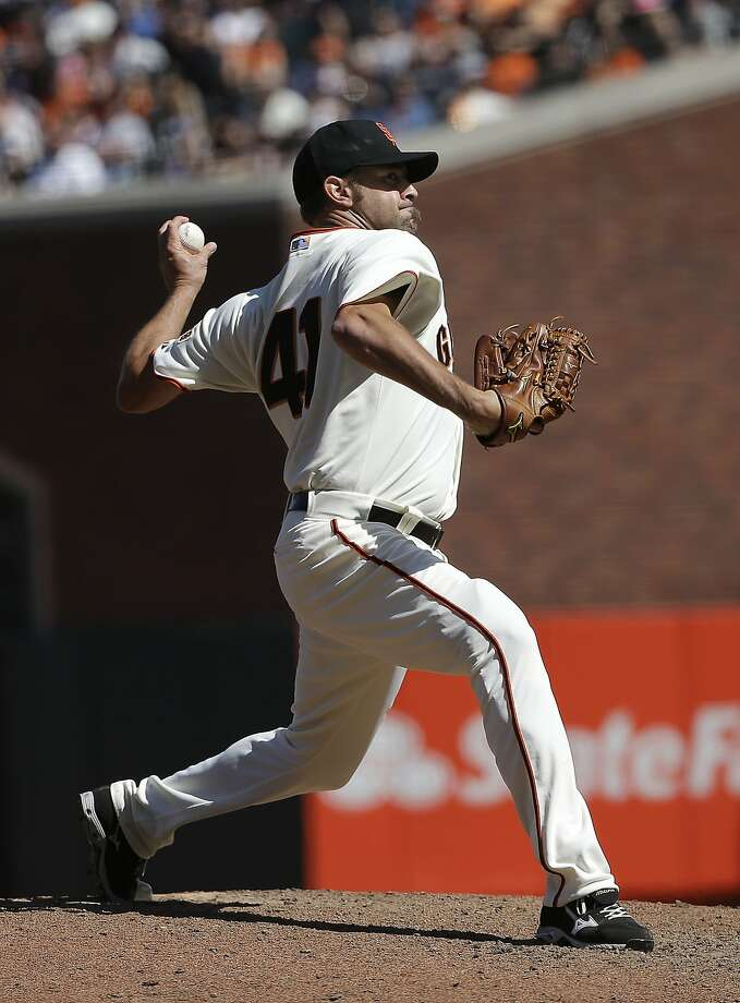 Jeremy Affeldt pitched two scoreless innings Thursday. Photo: Jeff Chiu, Associated Press